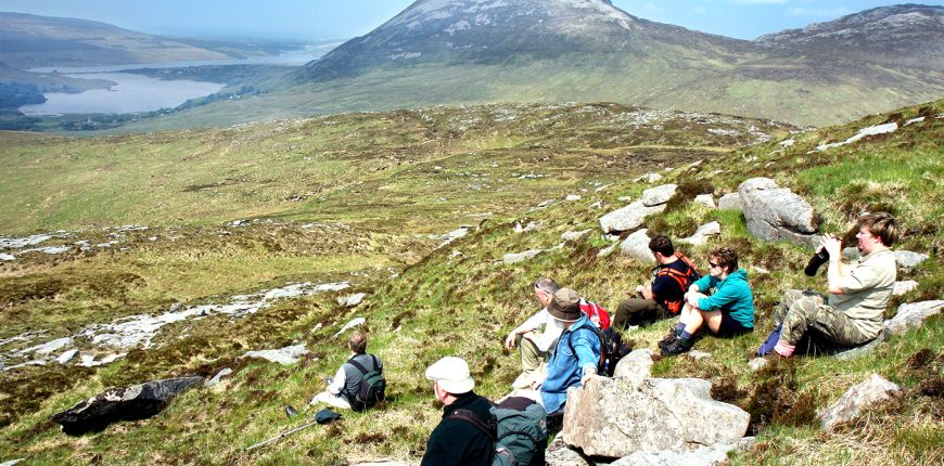 Hillwalking in Donegal