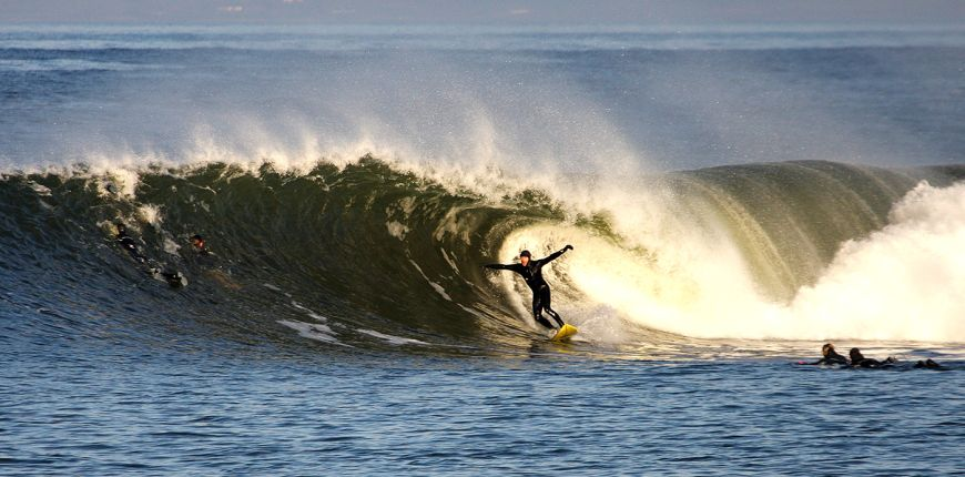 Surfing Donegal