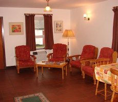 Rectory Holiday Cottages - living area